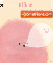 Furry Cute theme screenshot