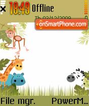 Safari 01 es el tema de pantalla