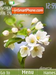 Spring (swf-anim) tema screenshot