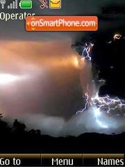 Thunder-storm theme screenshot