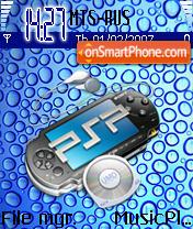 Sony Psp V0.2 theme screenshot