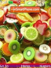 Fresh Fruits theme screenshot