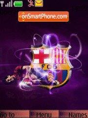 Fc Barcelona 11 theme screenshot