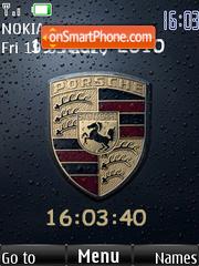 Porsche Logo 01 Theme-Screenshot