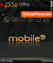 Mobile9 theme screenshot