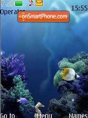 Mobile Aquarium anim Fl 3.0 theme screenshot