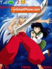 Inuyasha theme screenshot