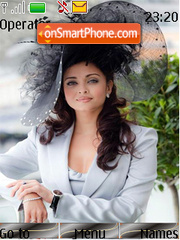 Capture d'écran Aishwarya Rai Wearing Hat thème