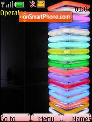 Capture d'écran Neon Squared Spring thème