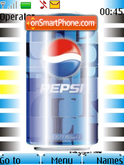 Скриншот темы Pepsi Battery Updater Beta