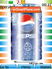 Pepsi Battery Updater Gamma theme screenshot