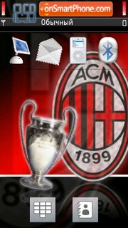 AC Milan 16 theme screenshot