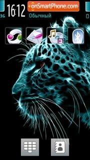 Neon Tiger tema screenshot