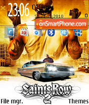 Saints row 2 theme screenshot