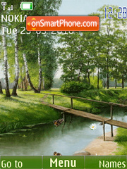 River,ducks tema screenshot