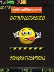 Virus Downloading theme screenshot