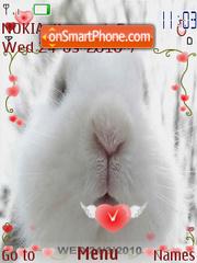 Capture d'écran Spring Hare thème