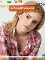 Emma Watson 14 es el tema de pantalla