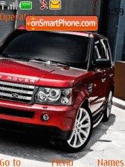 Range Rover 03 theme screenshot