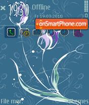 Elegant flower [Omnia] [FP1] tema screenshot