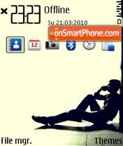 Lonely (Ovi1) theme screenshot