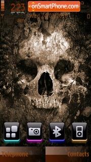 Skull 3 by shawan theme screenshot