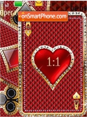 Carta Corazon notmine theme screenshot