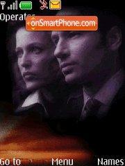 The X-Files 01 theme screenshot