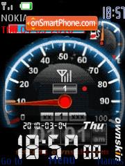 Super Speed theme screenshot