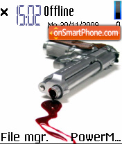 Gun 03 theme screenshot