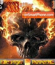 Ghost Rider 04 es el tema de pantalla