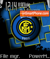 Inter Milan 2010 theme screenshot