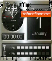 Smartphone 01 theme screenshot