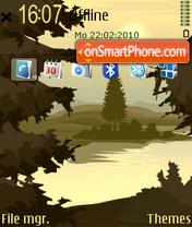 Скриншот темы Forest standard 01