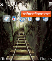 Jungle bridge tema screenshot