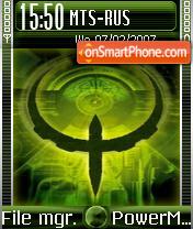 Quake es el tema de pantalla
