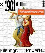 RadhaKrishan theme screenshot
