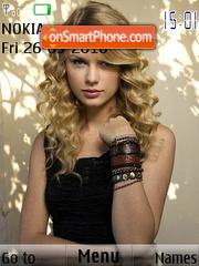 Taylor Swift Cute es el tema de pantalla