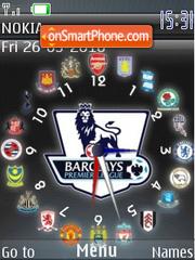 Football Clubs theme screenshot