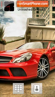 Red Mercedes theme screenshot