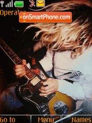 Kurt Cobain theme screenshot