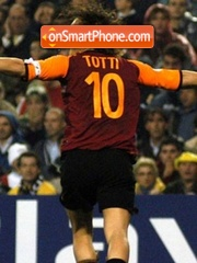 Totti theme screenshot
