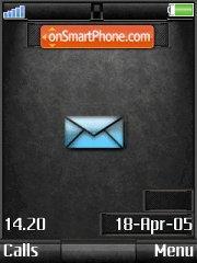 Black Mail+Mmedia theme screenshot