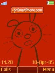 Brown Bunny+Mmedia theme screenshot