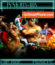 Tekken theme screenshot