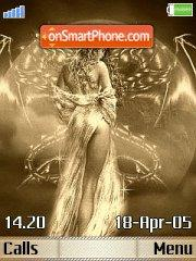 Golden Angel theme screenshot
