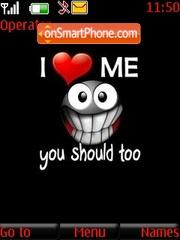 I Love Me theme screenshot