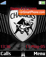 Deccan Chargers theme screenshot