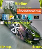 Tuning Car theme screenshot