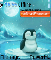 Cute Penguin 02 Screenshot